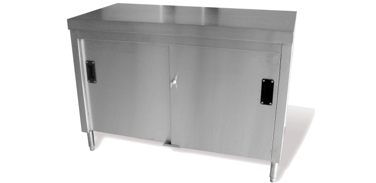 Stainless Steel Catering Floor cupboard