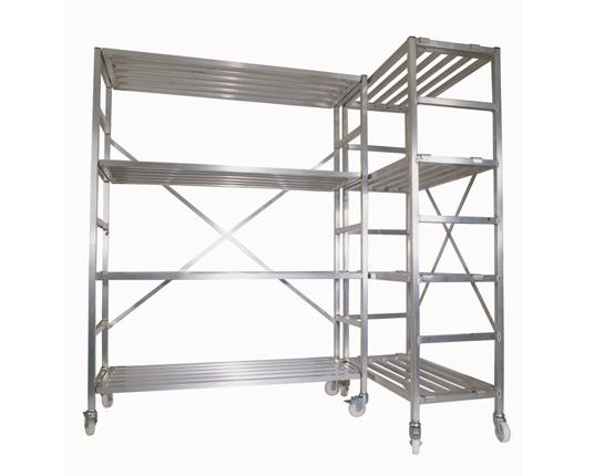 Mobile Storage Racking Set