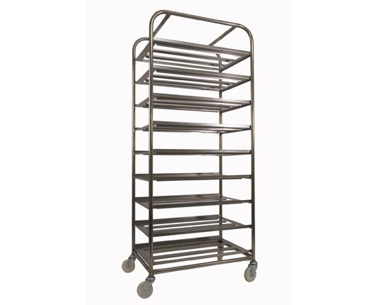Nine Tray Bakery Rack