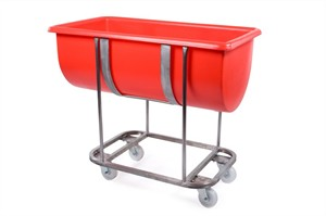 RM135FSS Stainless Steel Trough Frame With Coloured Plastic Trough