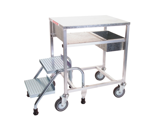 Two Step Stocking Trolley