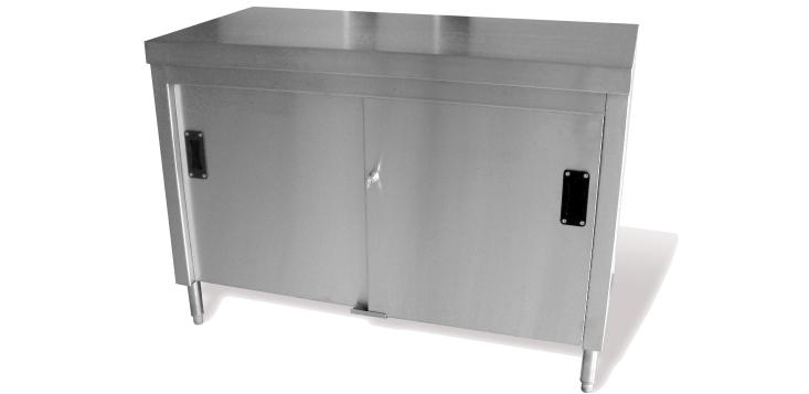 Stainless Steel Catering Floor cupboard