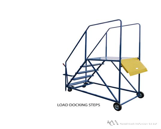 Dock Loading Steps