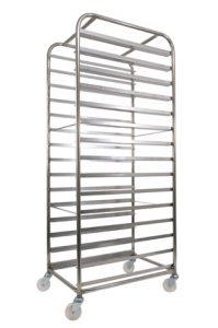 Fifteen Tray Bakery Rack
