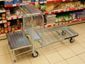 Large Store Stock Trolley - MCI0012