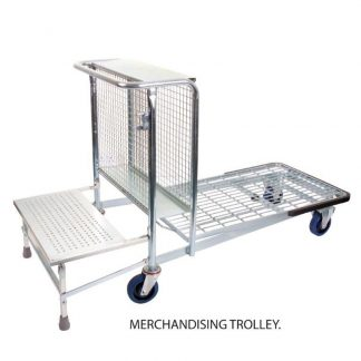 Merchandising Trolley - Single Step