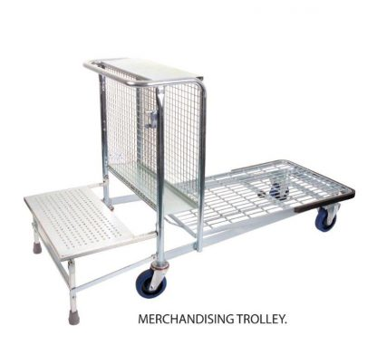 Merchandising Trolley - Single Step