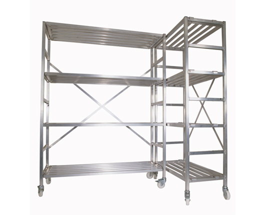 Mobile Storage Racking Set
