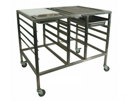 Mobile Rotisserie Table