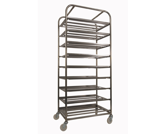 Nine Tray Bakery Rack