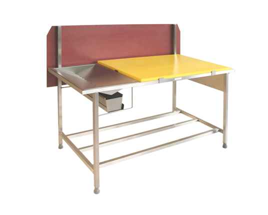 Poultry Prep Drainer Table