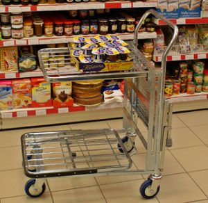 Small Store Stock Trolley - MCI0040