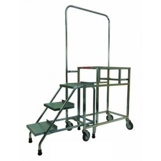 Three Step Stocking Trolley