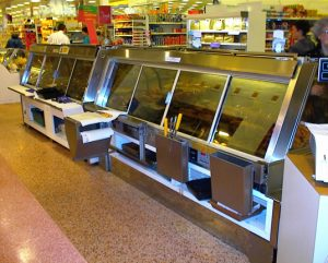 Typical Deli Display Furniture