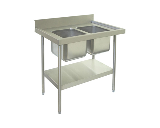 Flat Pack Double Bowl Sink Unit
